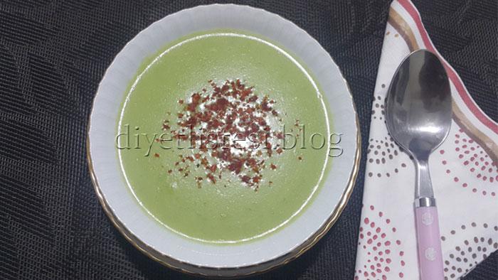 Diyet Kabak Çorbası hazırlama