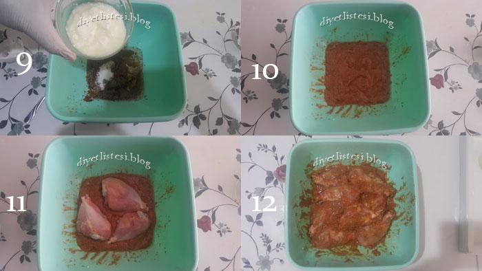 düdüklü tencerede tavuk tandır nasıl yapılır