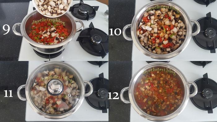 mantar sote nasıl yapılır