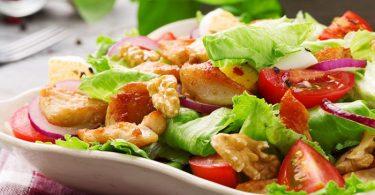 Tavuklu salata diyet