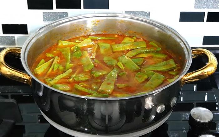 Etli Yeşil Fasulye Yemeği Yapımı