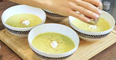 Kremasız Brokoli Çorbası Yapımı