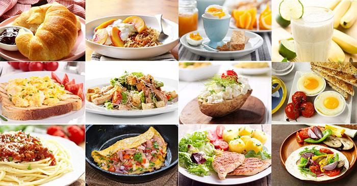 1200 Kalorilik Diyet Listesi, 1 Haftalık Özel Menü
