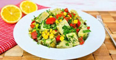 Taze Enginar Kalbi Salatası