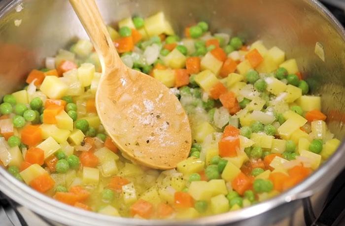 Havuçlu Patatesli Enginar Yemeği Yapımı