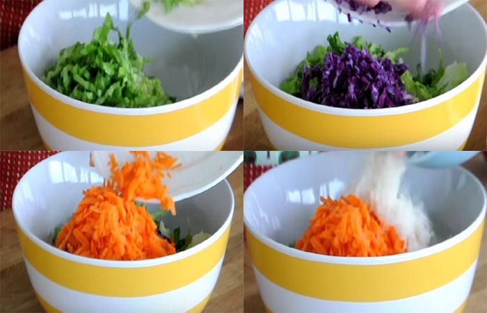 Mevsim Salata, Tarifi, mevsim salatası, kalorisi, yapılışı