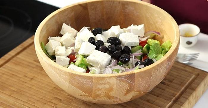 Yunan Salatası İçindekiler