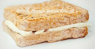Beyaz Peynirli Tost Kalori