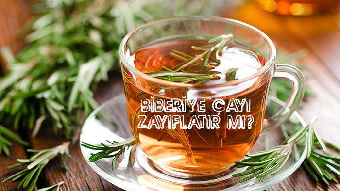 biberiye çayı kilo verdirirmi