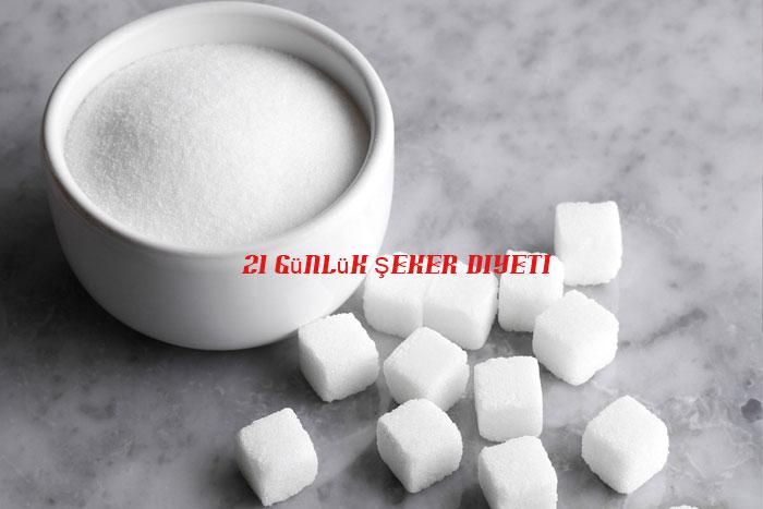 21 Günlük Şeker Diyeti Listesi
