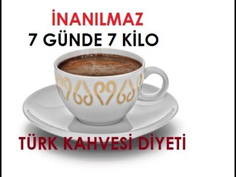 7 Günde 7 Kilo Verdiren Türk Kahvesi Diyeti