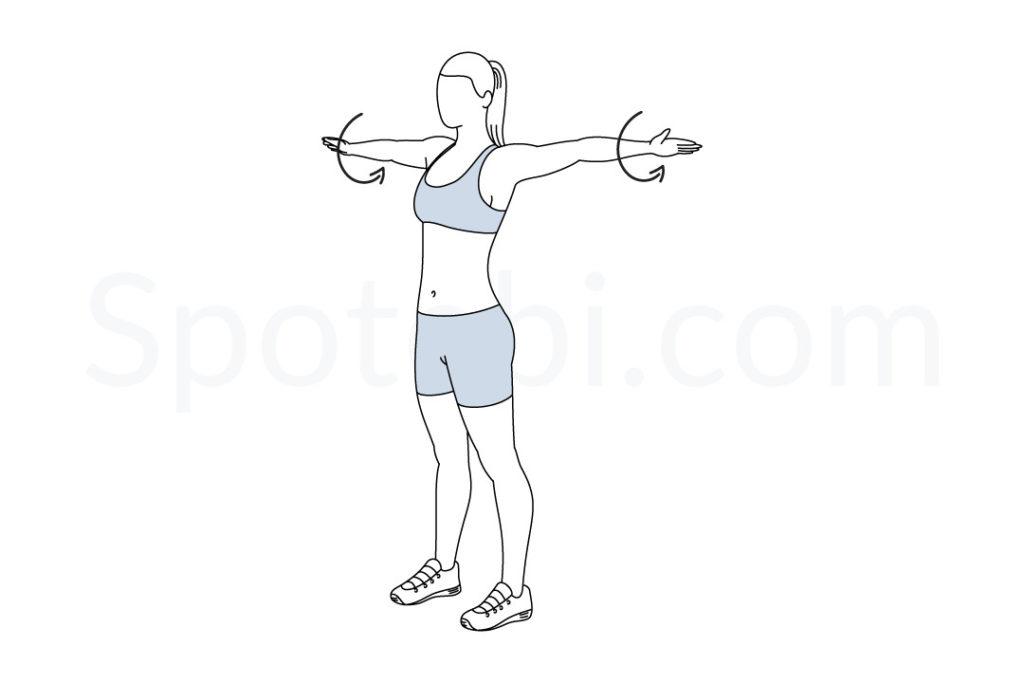 arm-circles-egzersiz-karantina-diyet